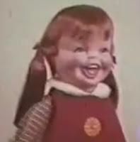 Boneca assustadora: Baby Laugh a Lot, Remco dos Anos 70.
