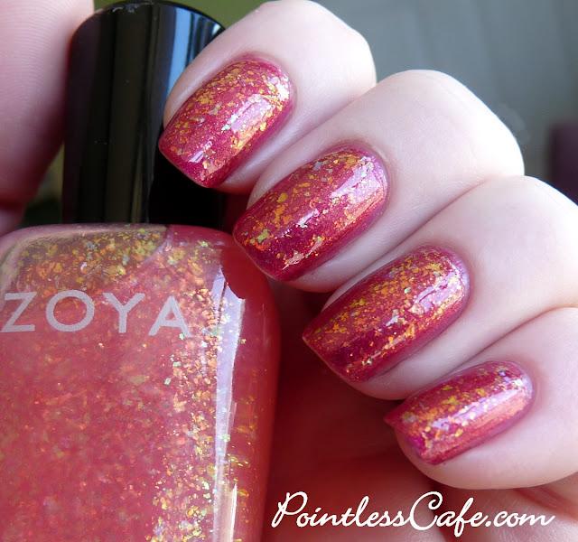 Zoya Evangeline Opal Fleck Effects