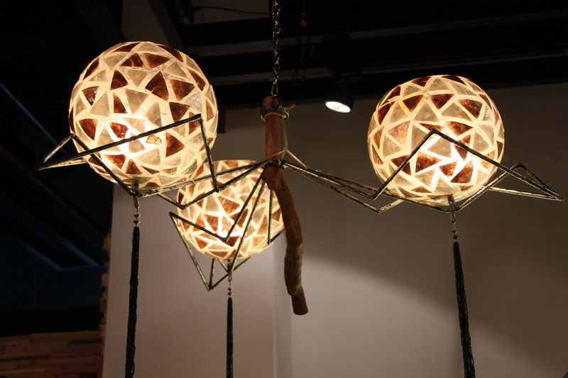 Unique Handmade Ceiling - new ideas light - 2014