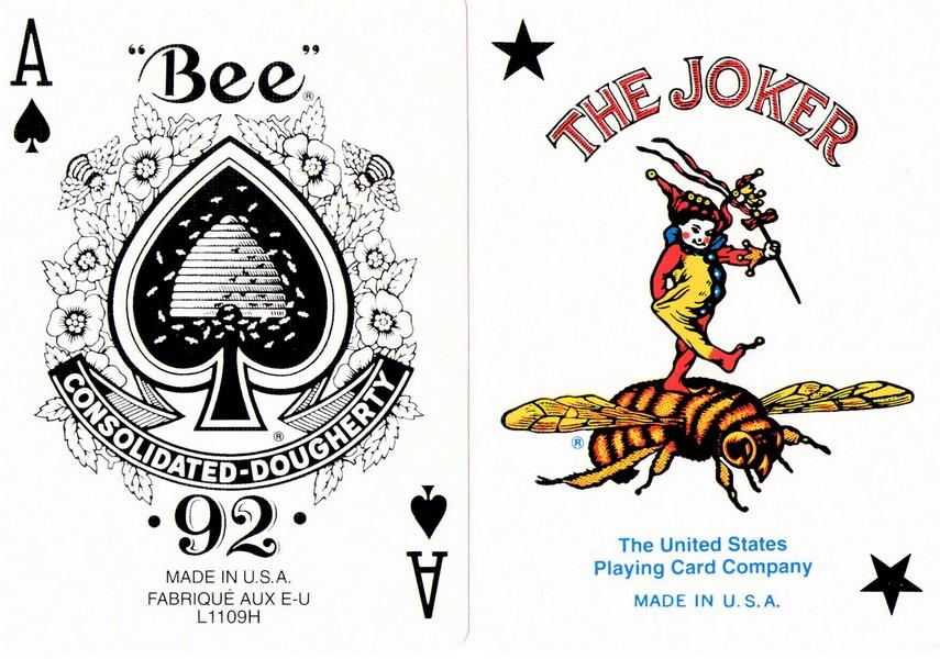 Bee Playing Card ไพ่ป๊อก คาสิโน casino