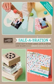 Click Here to see the Stampin'UP! Sale-a-bration 2014 Brochure