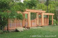 Garden Arbor With Gate4