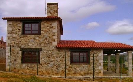 Fachadas de piedra frentes de casas con piedras rusticas - Piedra rustica para fachadas ...
