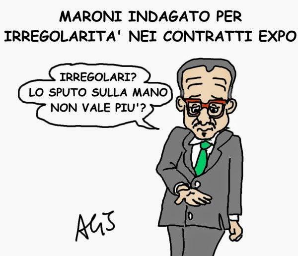 vignetta Maroni, expo