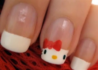Kitty Nail Art Ideas