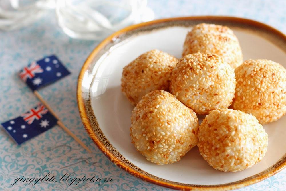 Sesame Ball / Jian Dui 芝麻球/煎堆