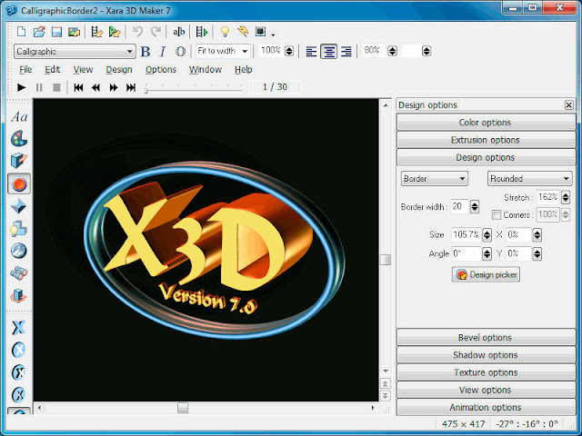 XARA-3D-Maker-screenshot