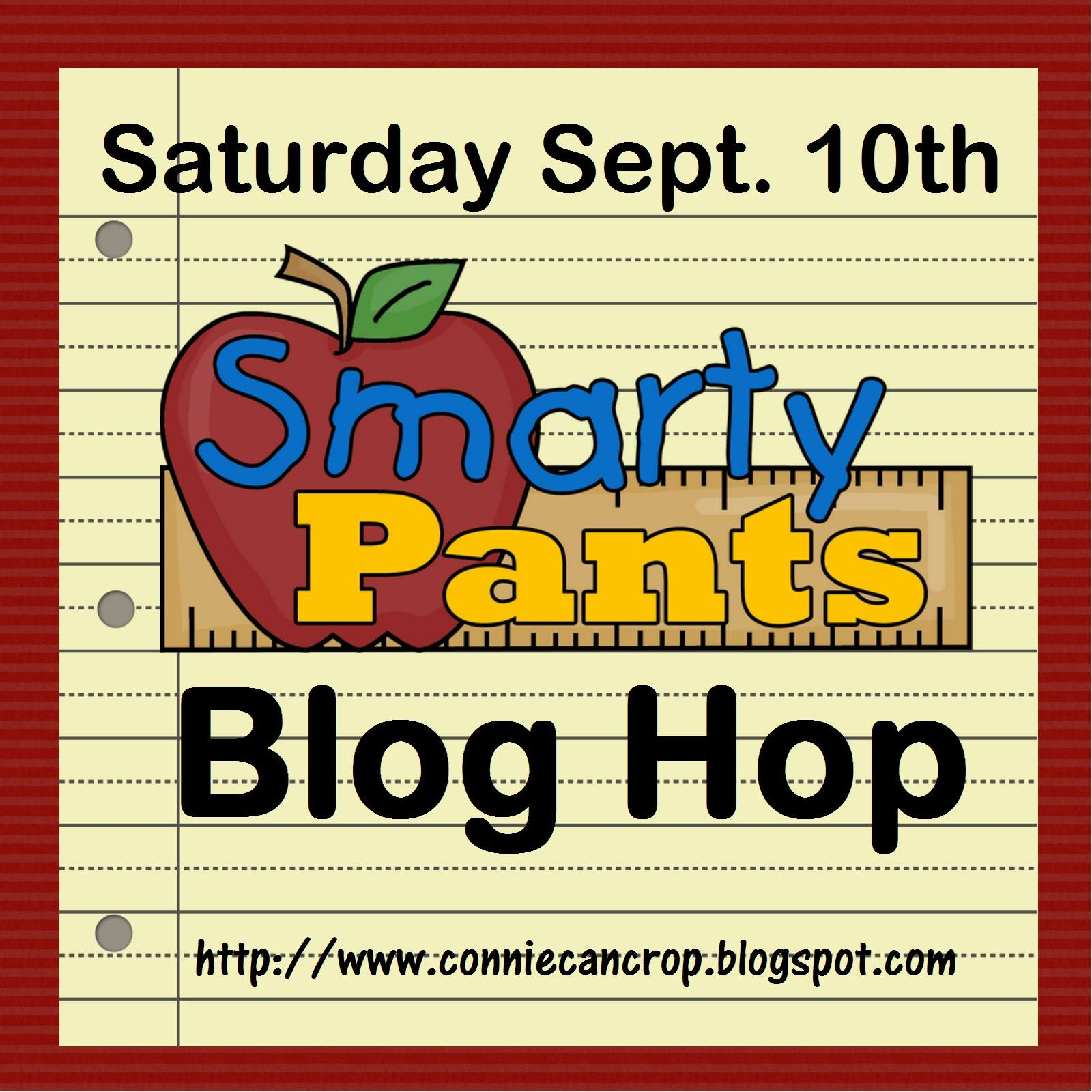 SEPTEMBER BLOG HOPS: