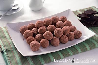 Tartufi al cioccolato: conservare i tartufi al cioccolato in frigo