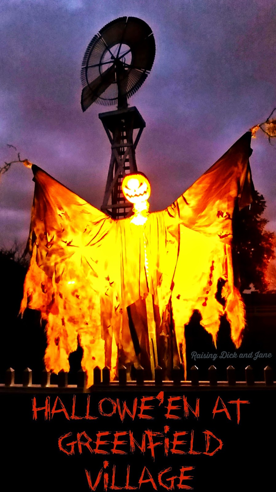 #ad Hallowe'en at Greenfield Village @HenryFord
