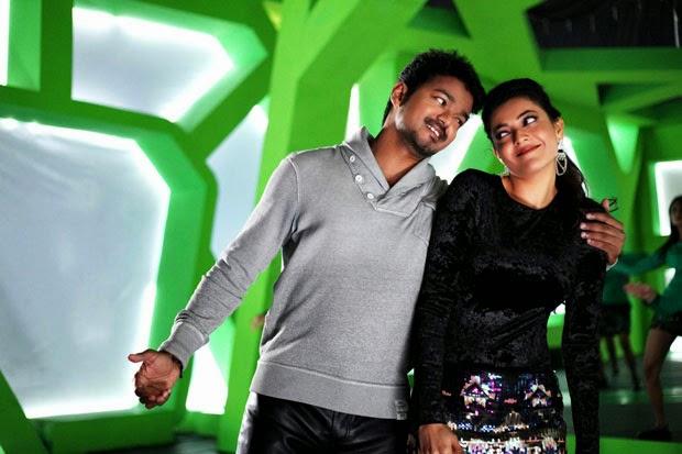 Kajal Aggarwal looks Beautiful in lovely Sarees frm movieJilla with Vijay