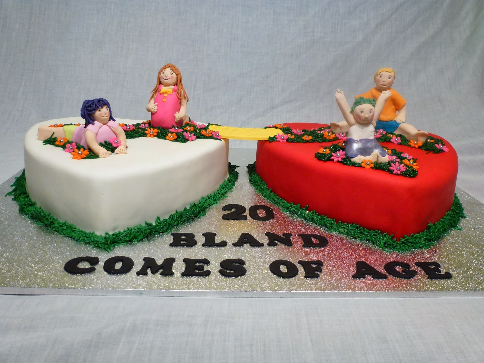 Cakes and other delights coming of age happy th wedding