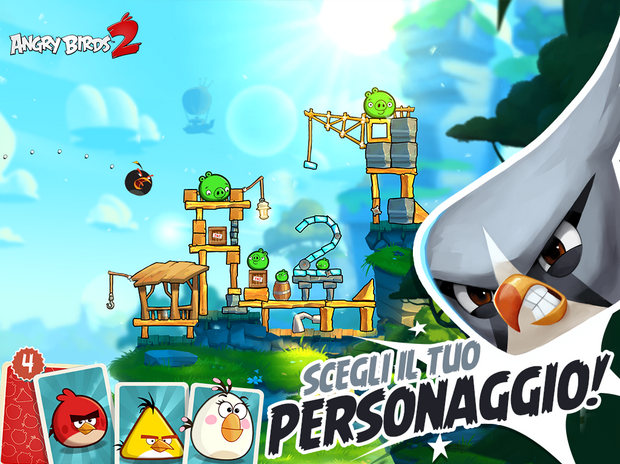 Download Angry Birds 2 iPhone Android Windows Phone
