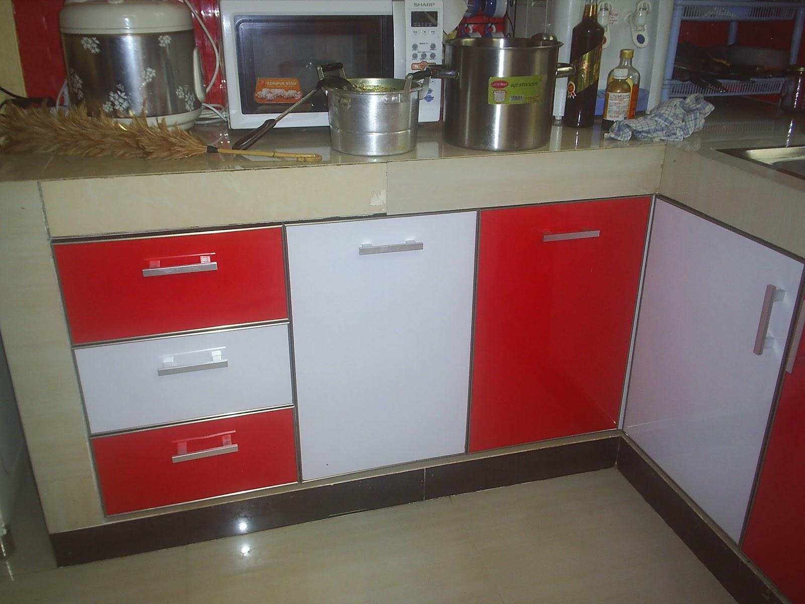Melayani kebutuhan lemari anda for Kitchen set bawah