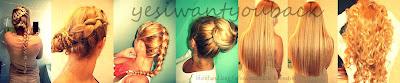 Blond and long / włosy, paznokcie, kosmetyki
