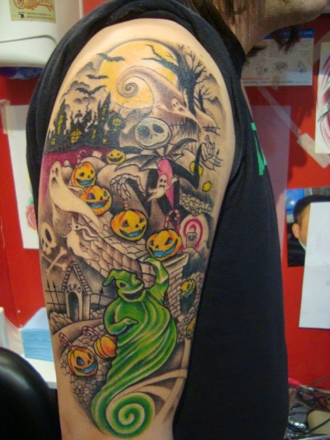 Top 5 Nightmare Before Christmas Tattoo Design