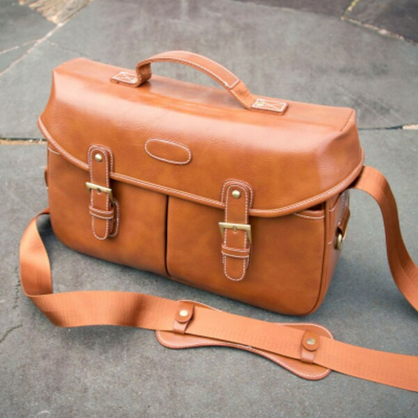 High quality leather bags for DSLR cameras