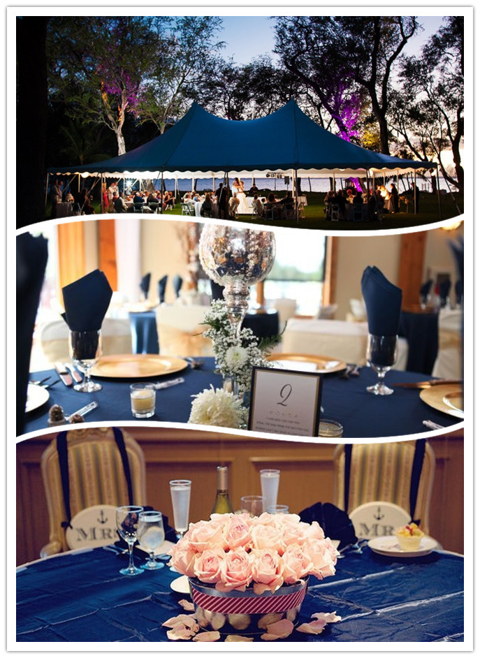 Navy Blue Table Decorations Pictures To Pin On Pinterest