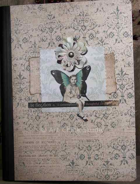Reflection Altered Art Journal