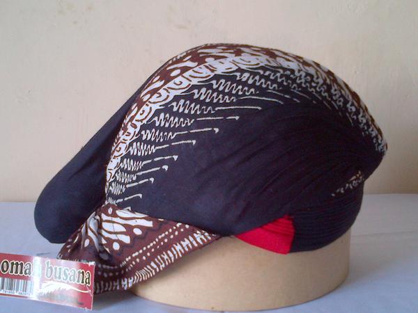 Blangkon Batik Print Rp. 75.000,-