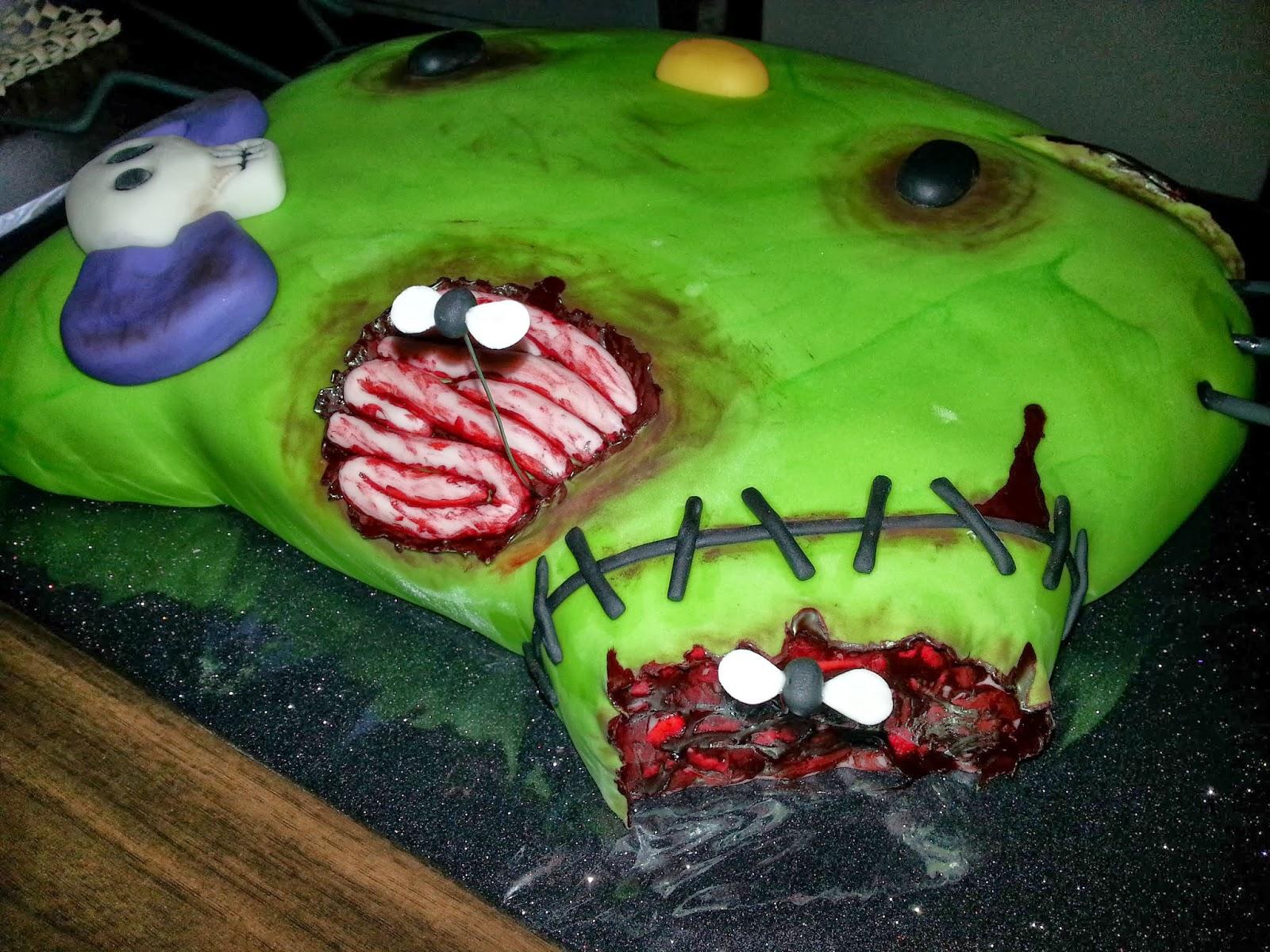 Wickd Cakes Zombie Hello Kitty