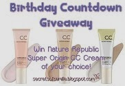 Birthday Countdown Giveaway [Open Internationally]