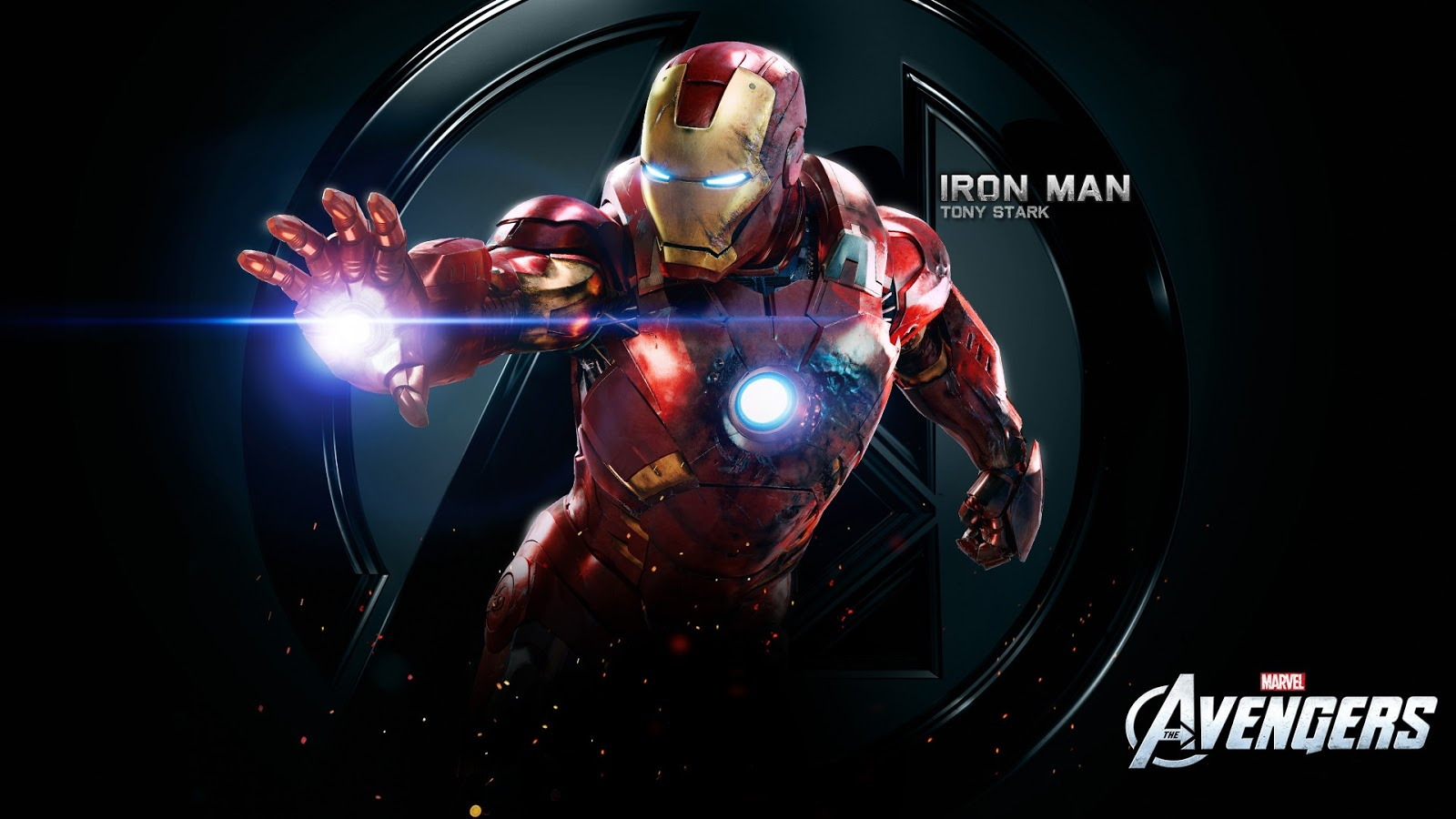 Iron Man Tony Stark in Movie Avengers Wallpaper HD