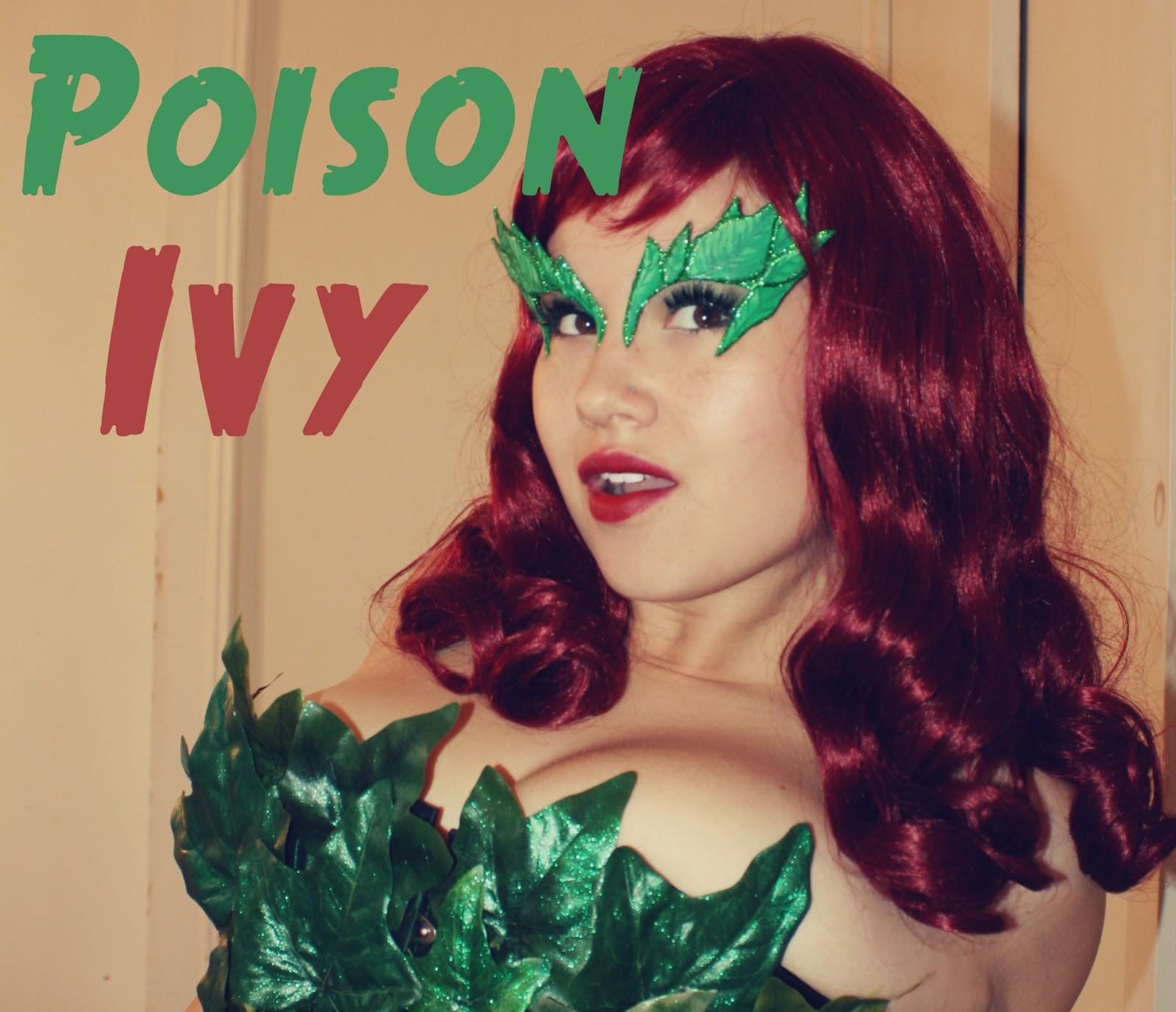 Rhinestone Religion: Poison Ivy Halloween Costume