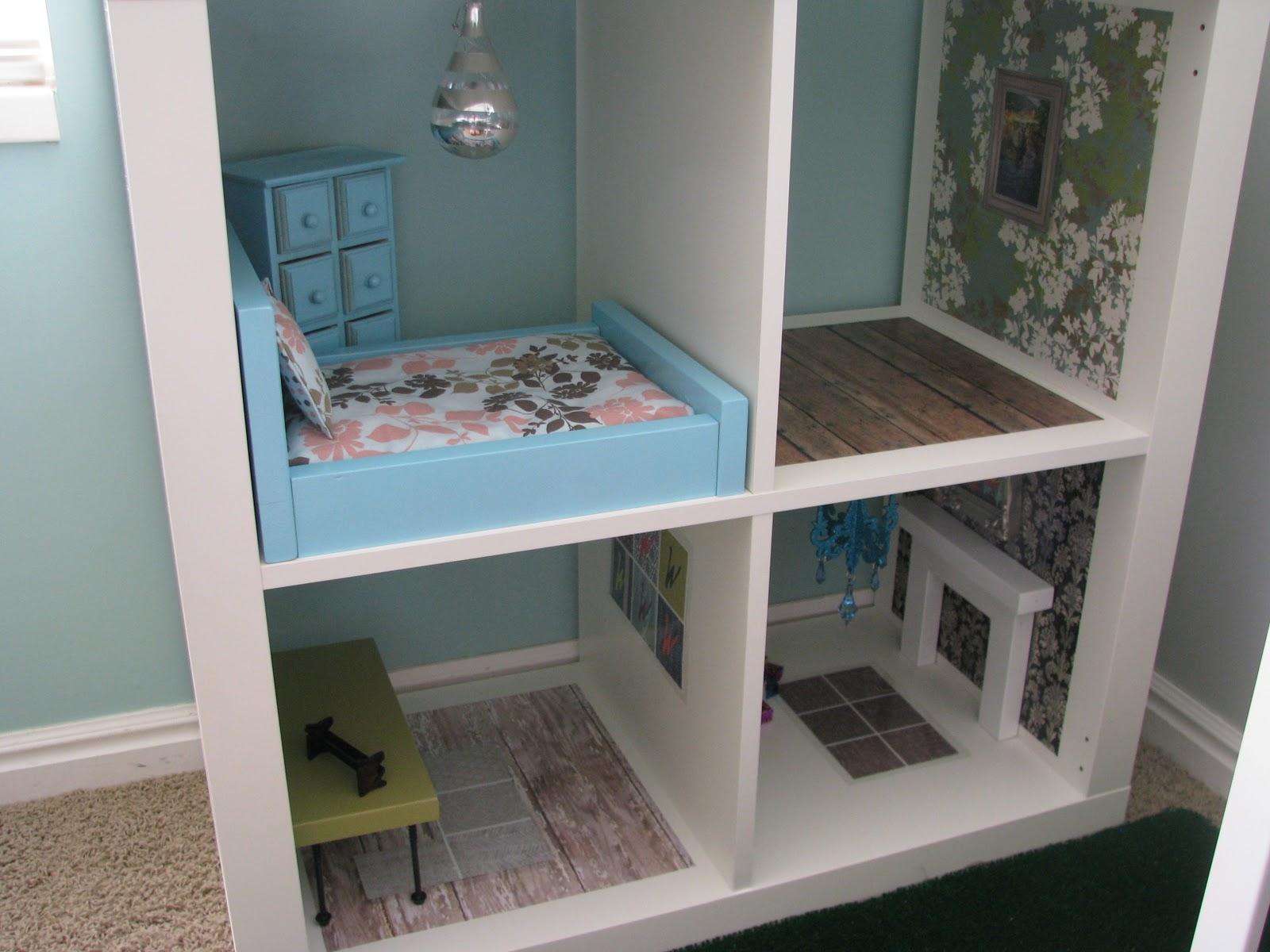 Occasionally Inspired Bookshelf Barbie House