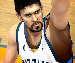 NBA 2K14 Marc Gasol Cyberface Mod