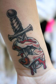 Dagger Tattoo Photo Gallery - Dagger Tattoo Ideas