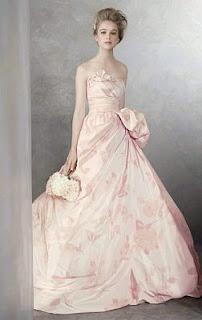 Vestidos de Novia Rosados, parte 3