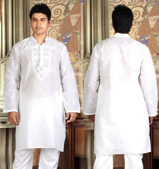 White Shalwar Men New White Shalwar Kameez