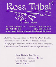 Rosa Tribal       Flower-Art