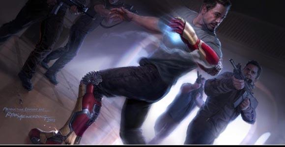 Marvel News: Making of Iron Man 3