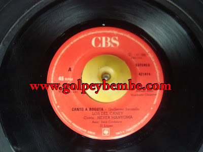 45 Rpm Los Del Caney - Side A