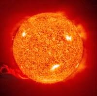 Solar energy from sun