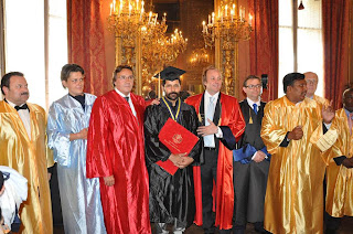 Vikram Conferred with Honorary Doctrate from Italy University of Milan