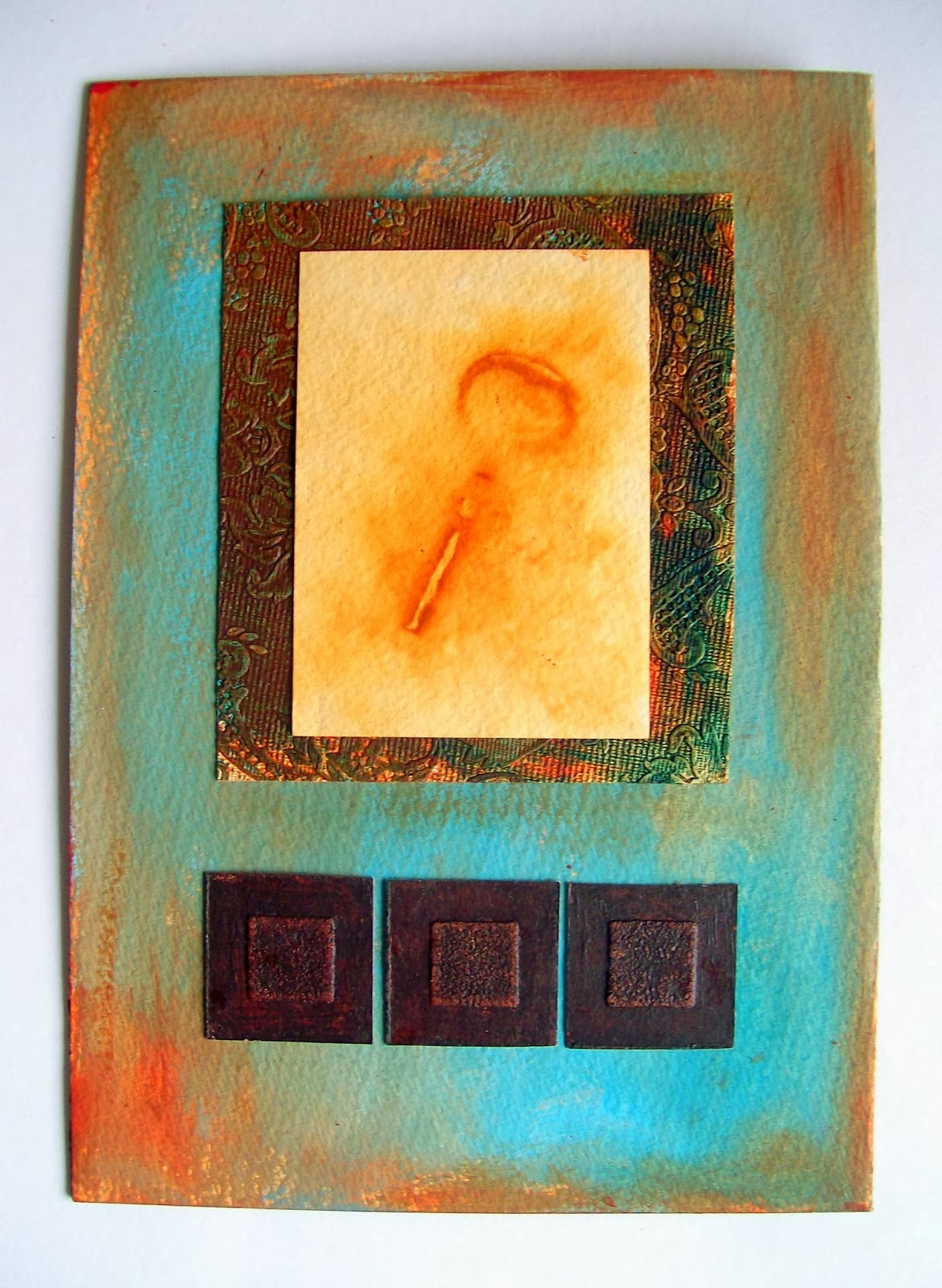 http://artangeloriginalart.blogspot.co.uk/2014/02/mixed-media-art-rust-print-technique.html