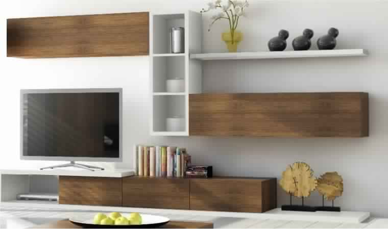 meuble suspendu bois. Black Bedroom Furniture Sets. Home Design Ideas
