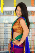 Santoshi sharma half saree pics-thumbnail-18
