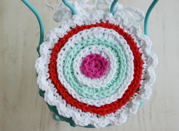 Felted Button Colorful Crochet Patterns Have A Little Seat