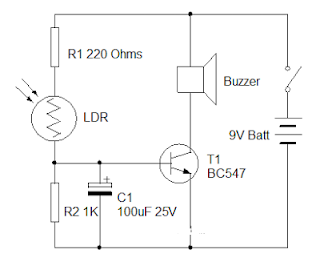 Morning Alarm Circuit Diagram based LDR | Owner And manual