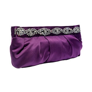 purple cute bag