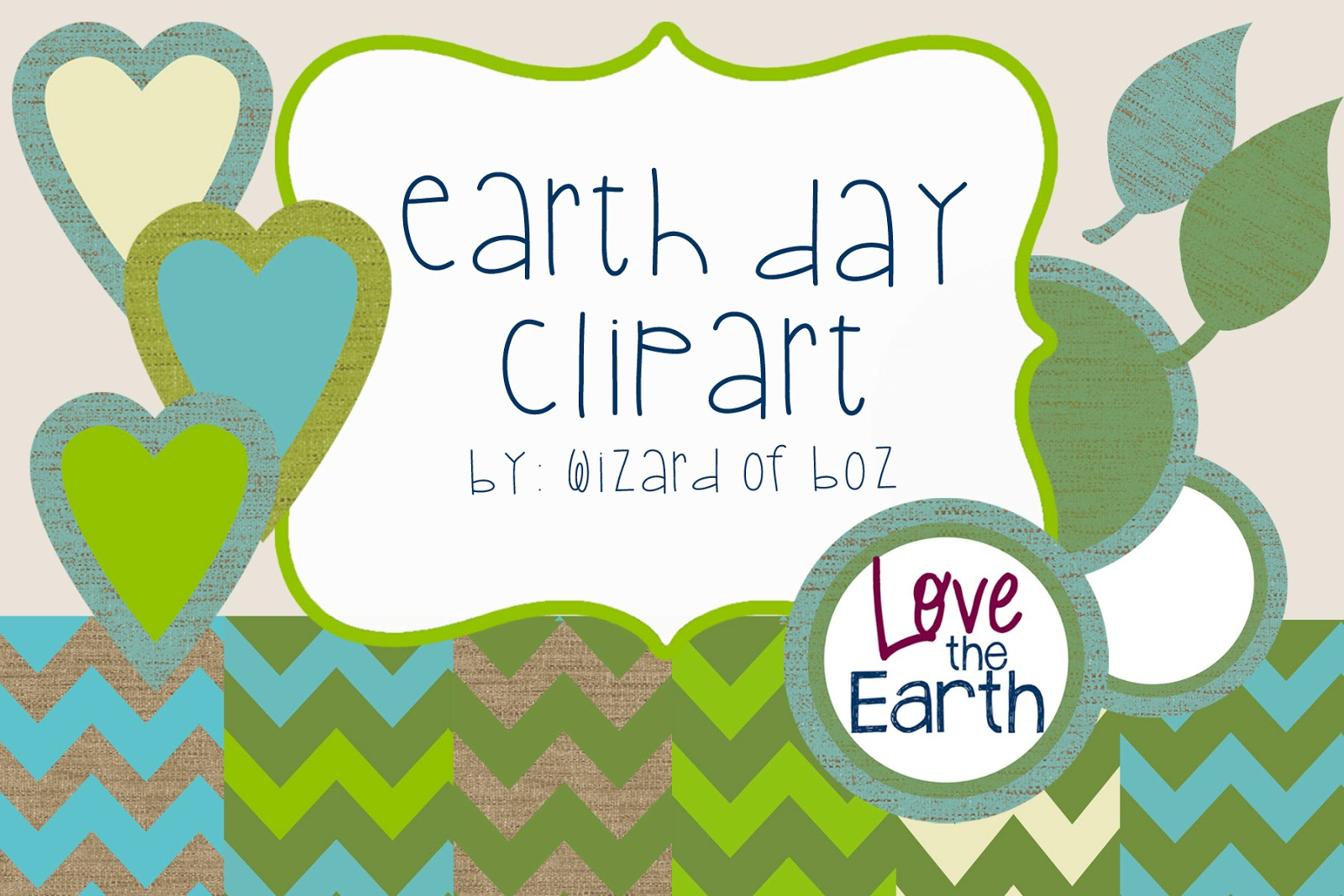 the wizard of boz earth day main idea and a freebie