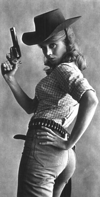 Jane Fonda sexy pose Cat Ballou 1965