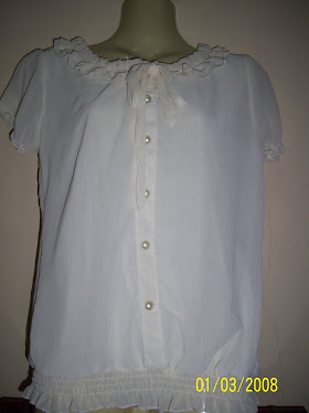 White Short Blouse - FR 07