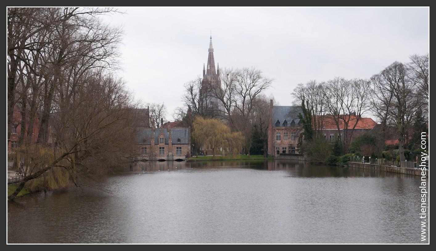 Brujas Minnewater Bélgica