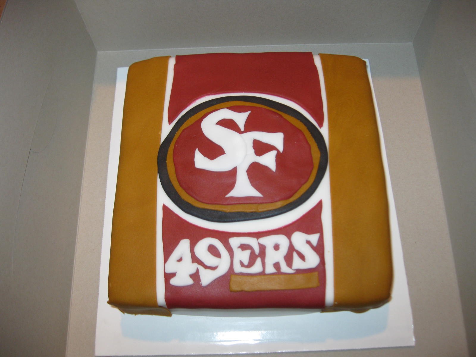 Cake It From Me San Francisco 49ers Cake