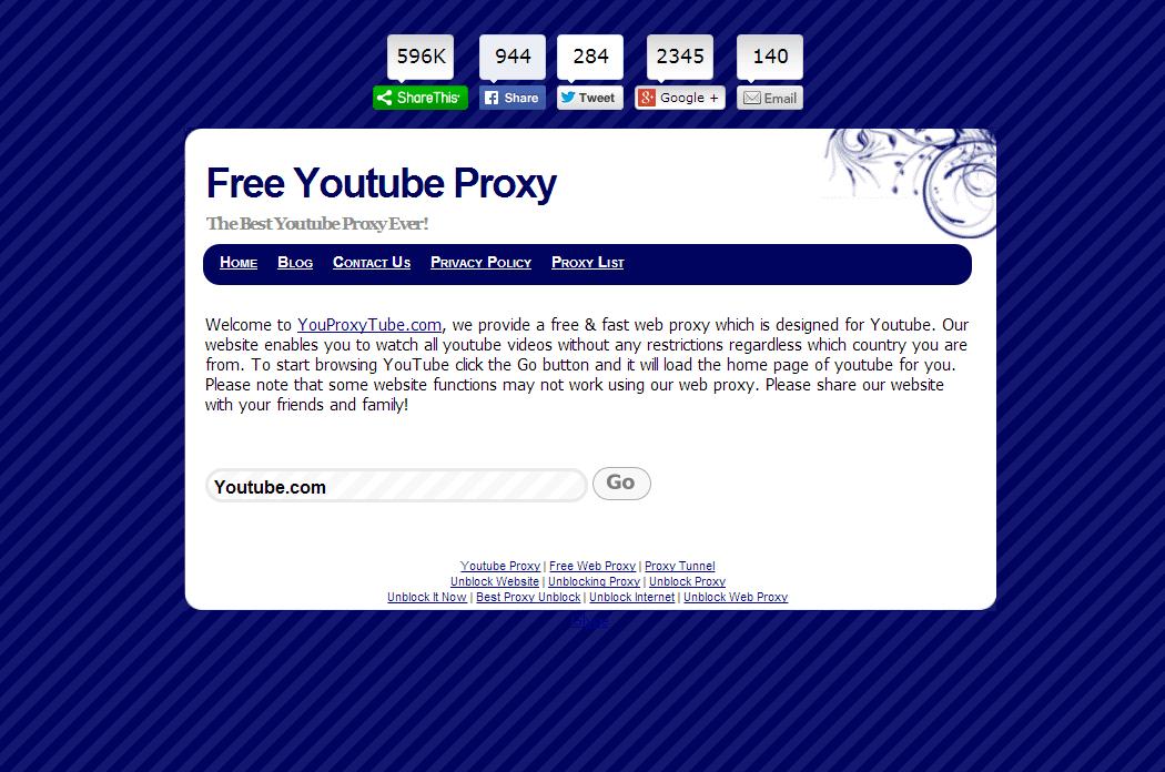 You Proxy Tube